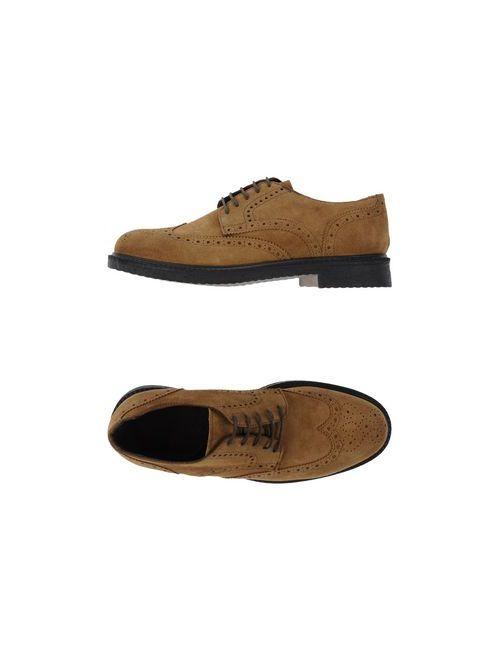 Settantatre Lr | Мужская Хаки Обувь На Шнурках