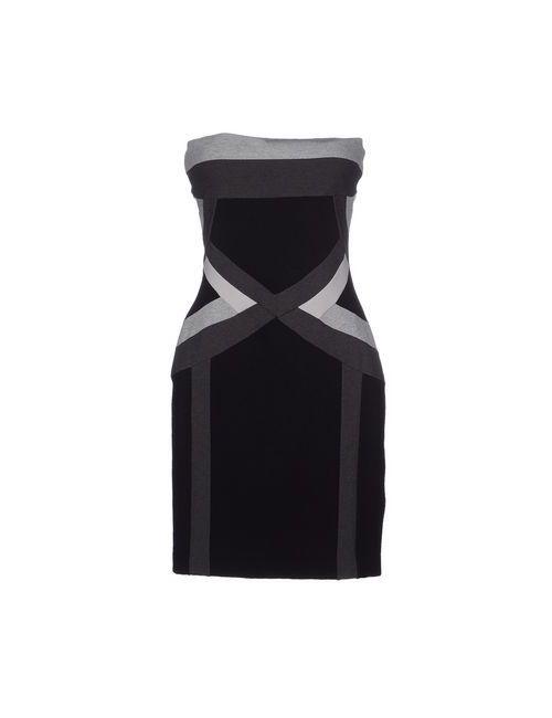 Divina | Женское Серое Короткое Платье