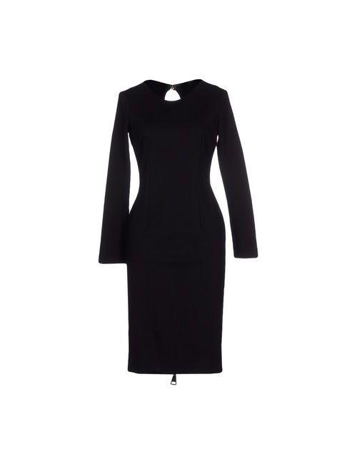 Etxart & Panno | Женское Чёрное Платье До Колена