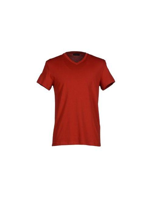 Jil Sander | Мужская Красная Футболка