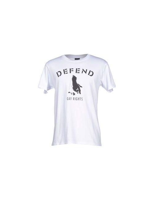 DEFEND | Мужская Белая Футболка