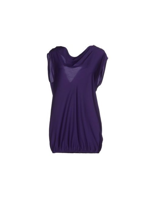 Liu •Jo | Женский Фиолетовый Топ Без Рукавов