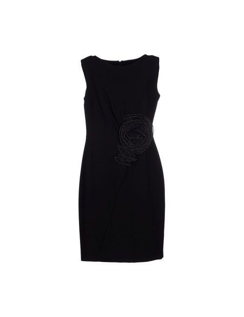 Donatella De Paoli | Женское Чёрное Короткое Платье