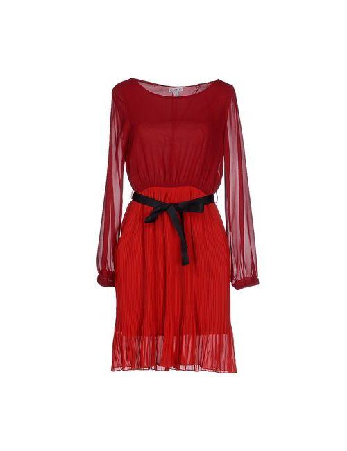 KLING | Женское Красное Короткое Платье