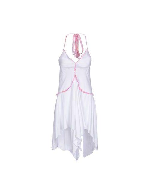 Exte | Женское Белое Короткое Платье
