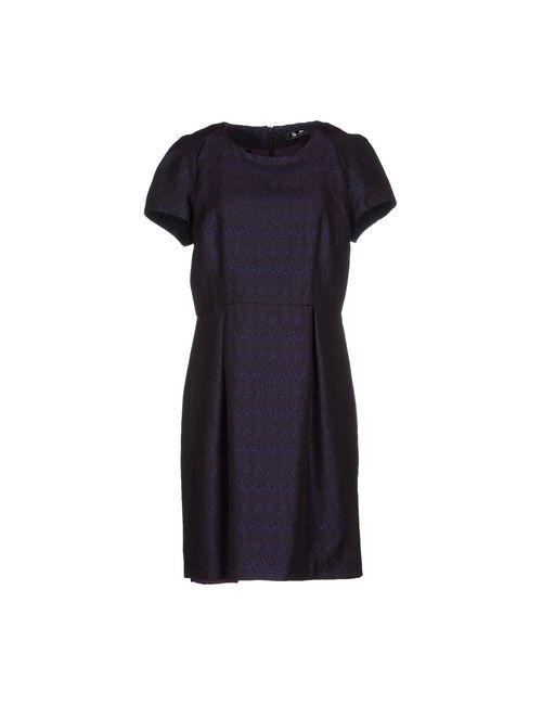 Sinequanone | Женское Фиолетовое Короткое Платье