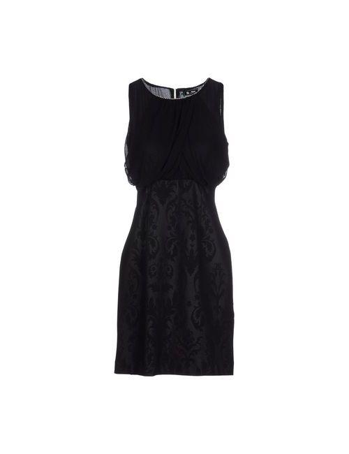 Sinequanone | Женское Чёрное Короткое Платье