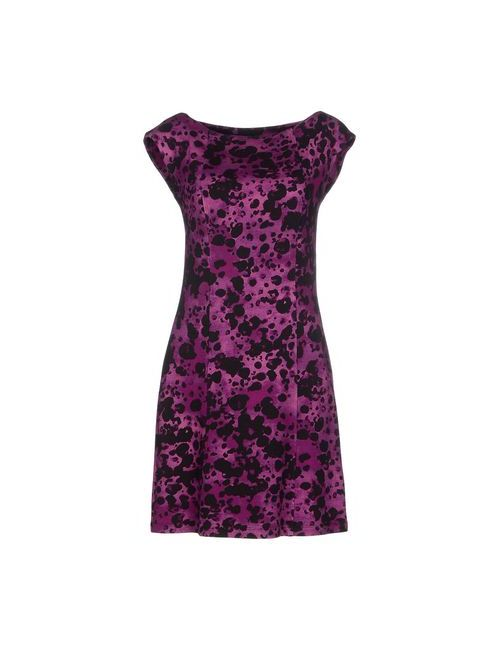 Blugirl Blumarine   Женское Розовато-Лиловое Короткое Платье