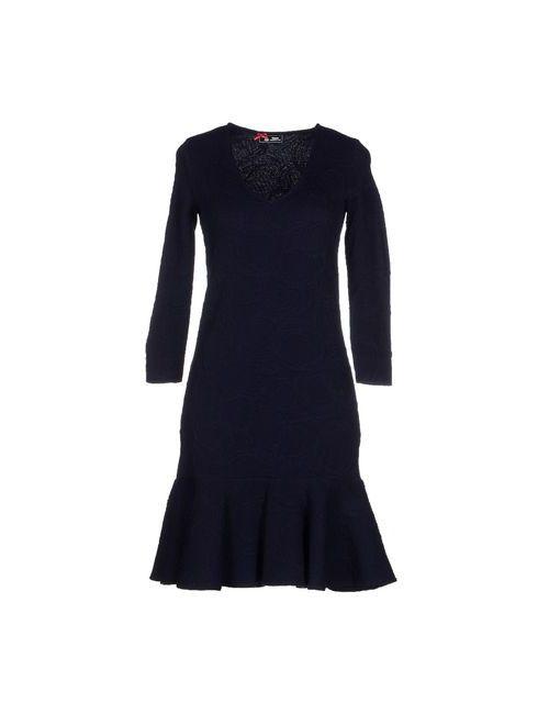 Sinequanone | Женское Синее Короткое Платье