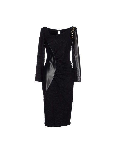 Maria Grazia Severi | Женское Чёрное Платье До Колена