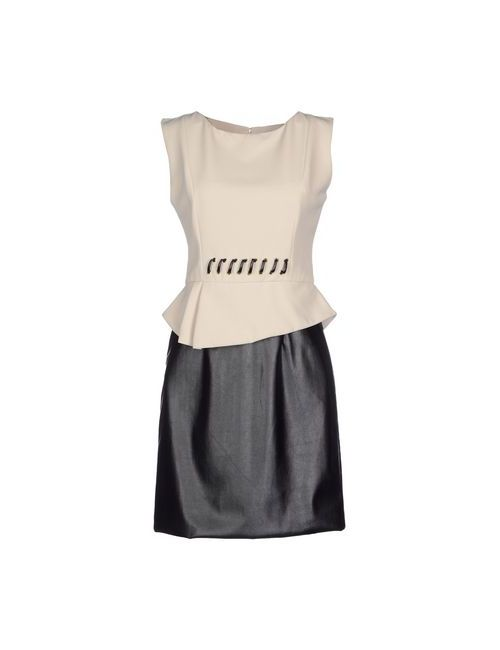 Annarita N. | Женское Бежевое Короткое Платье
