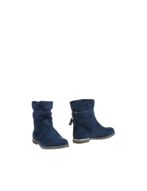 EXÉ BY TSAKIRIS MALLAS | Женские Синие Полусапоги И Высокие Ботинки