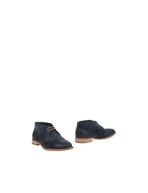 BOSS Orange | Мужские Синие Полусапоги И Высокие Ботинки
