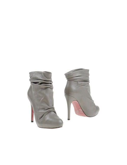 Luxury Rebel   Женские Серые Полусапоги И Высокие Ботинки