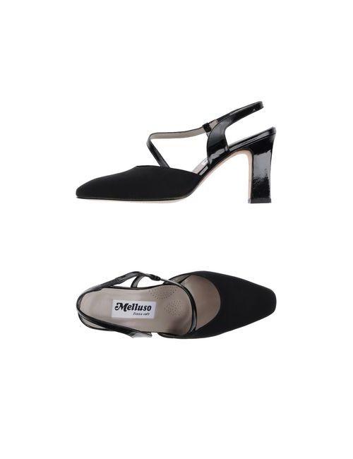 Melluso | Женские Чёрные Туфли
