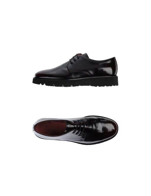 Frau | Женская Коричневая Обувь На Шнурках