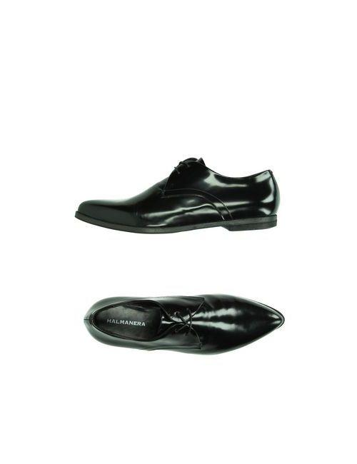 Halmanera | Женская Чёрная Обувь На Шнурках