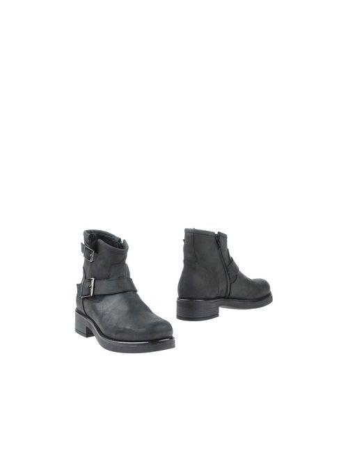 Police 883 | Женские Чёрные Полусапоги И Высокие Ботинки