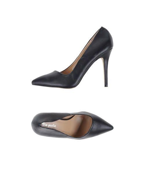 VIA GIULIA | Женские Чёрные Туфли