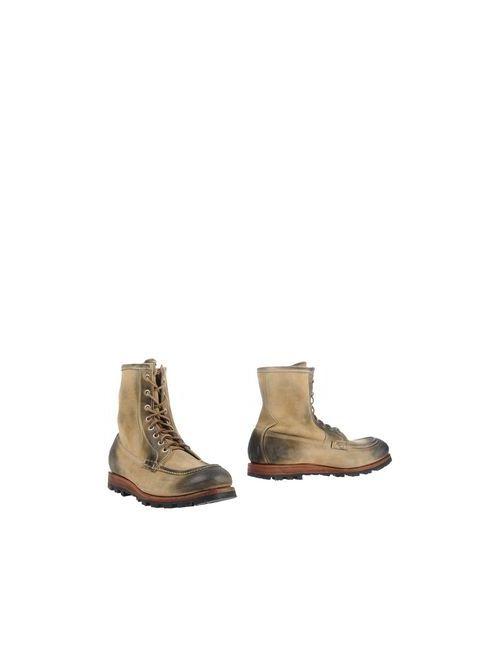 Officine Creative | Мужские Бежевые Полусапоги И Высокие Ботинки