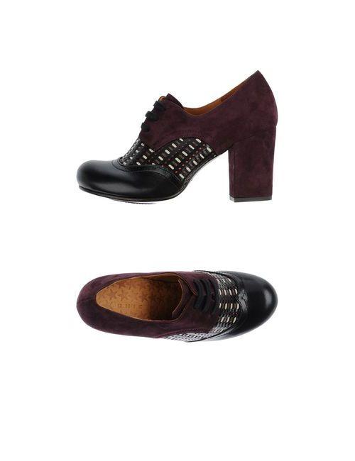 Chie Mihara   Женская Черный Обувь На Шнурках