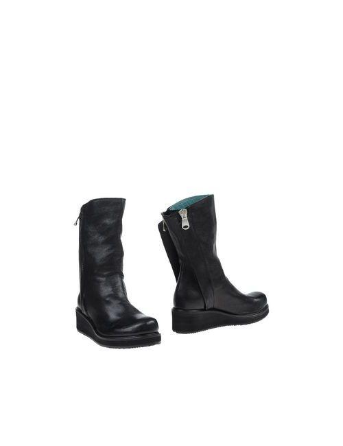 CARDIFF | Женские Чёрные Полусапоги И Высокие Ботинки