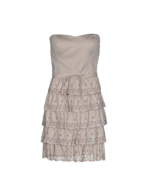 Silvian Heach | Женское Серое Короткое Платье