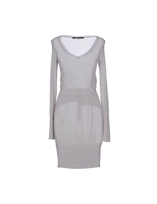 Terre Alte | Женское Серое Короткое Платье