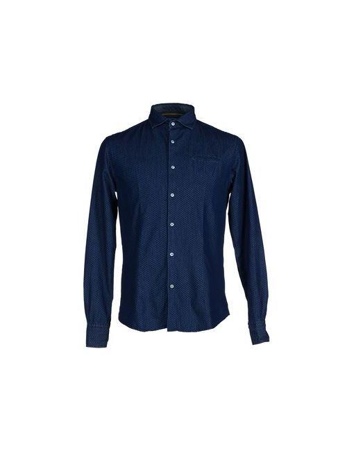 Primo Emporio | Мужская Синяя Джинсовая Рубашка