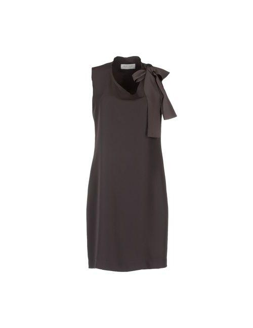 Daniela Pancheri | Женское Коричневое Короткое Платье