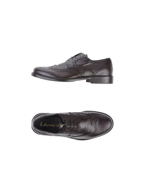Lemaré | Мужская Коричневая Обувь На Шнурках