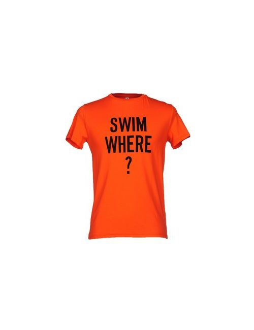 Moschino Swim | Мужская Оранжевая Футболка