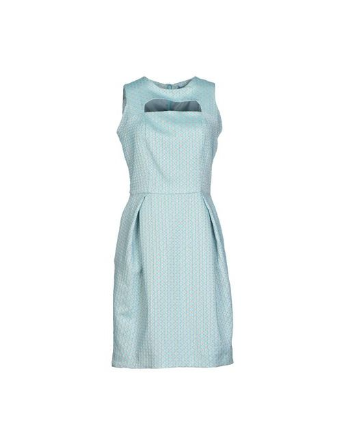 Sinequanone | Женское Бирюзовое Короткое Платье