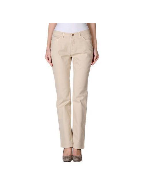 Trussardi Jeans | Женские Песочные Джинсовые Брюки