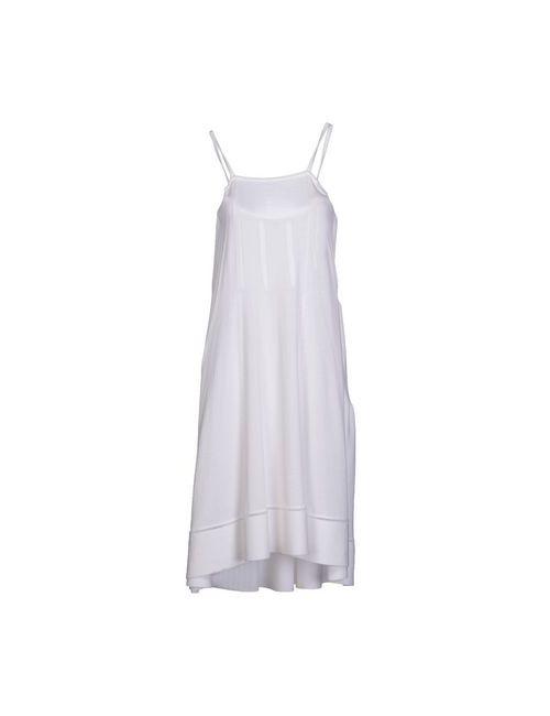 Aimo Richly | Женское Белое Платье До Колена