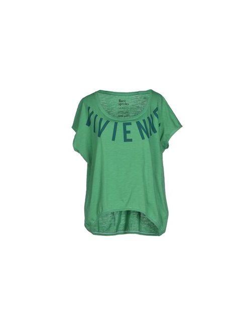 Pagano | Женская Зелёная Футболка