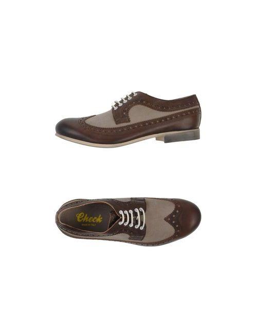 Check | Мужская Коричневая Обувь На Шнурках