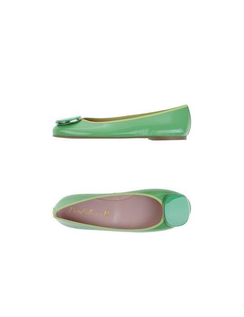 Pretty Ballerinas | Женские Зелёные Балетки