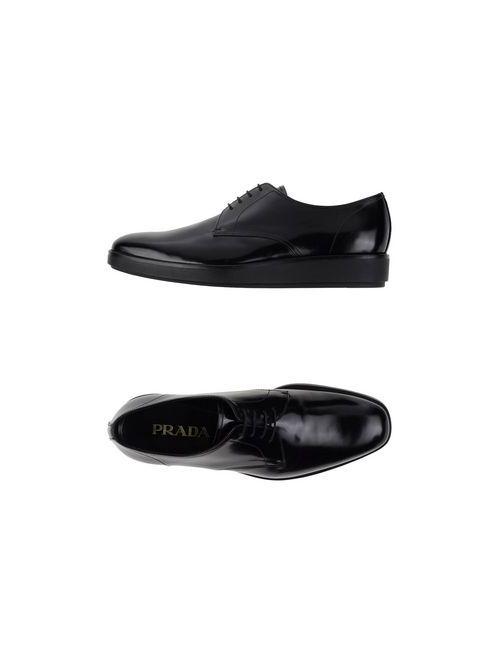 Prada | Мужская Черный Обувь На Шнурках