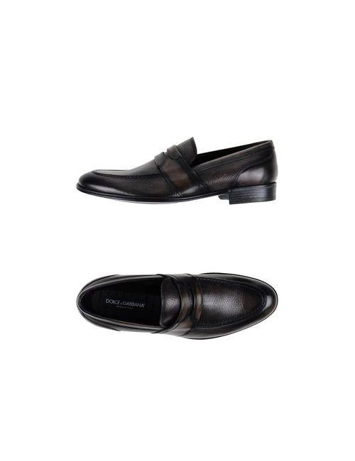 Dolce & Gabbana | Мужские Коричневые Мокасины