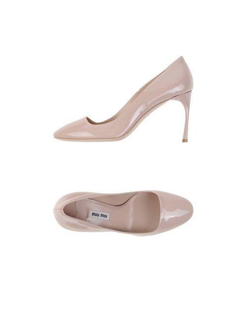 Miu Miu | Женские Розовые Туфли