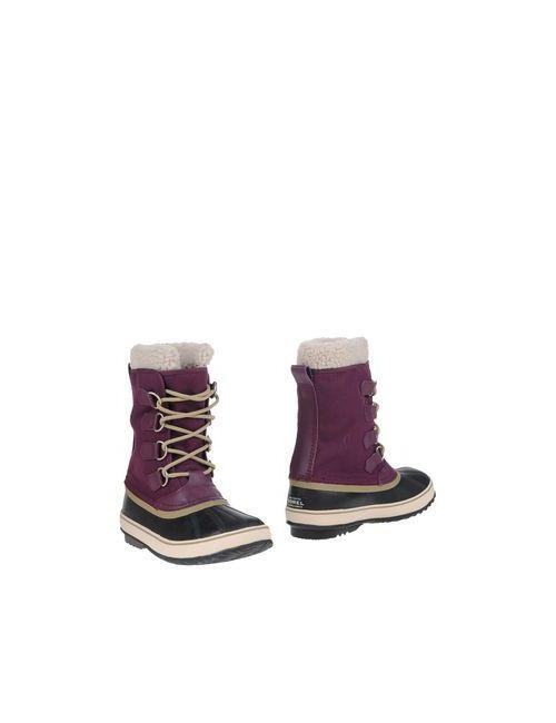Sorel | Женские Фиолетовые Полусапоги И Высокие Ботинки