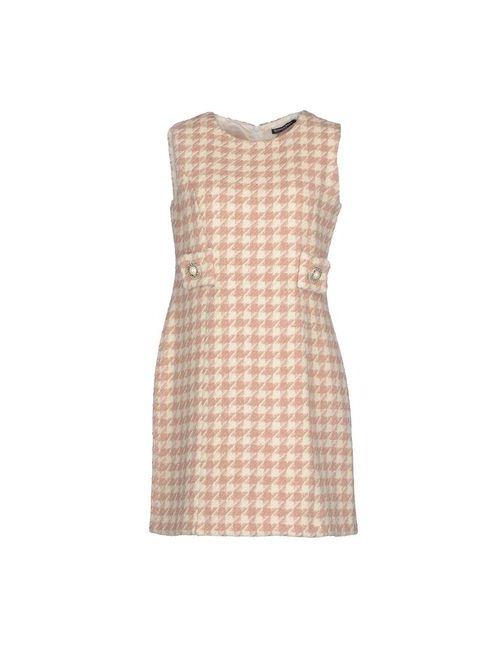 La Camicia Bianca | Женское Розовое Короткое Платье