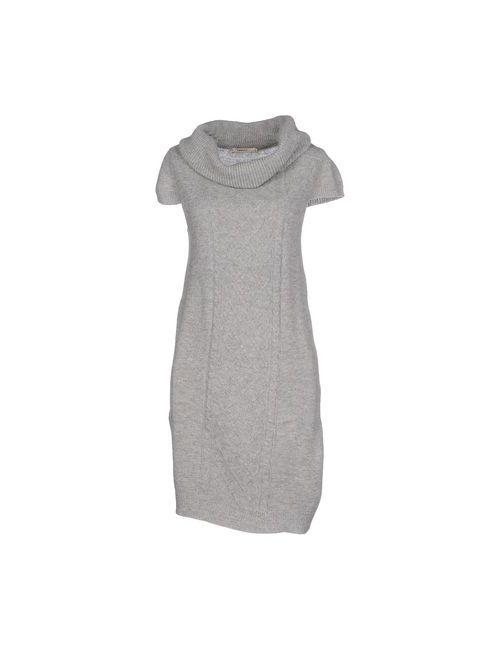 Lavand. | Женское Серое Короткое Платье