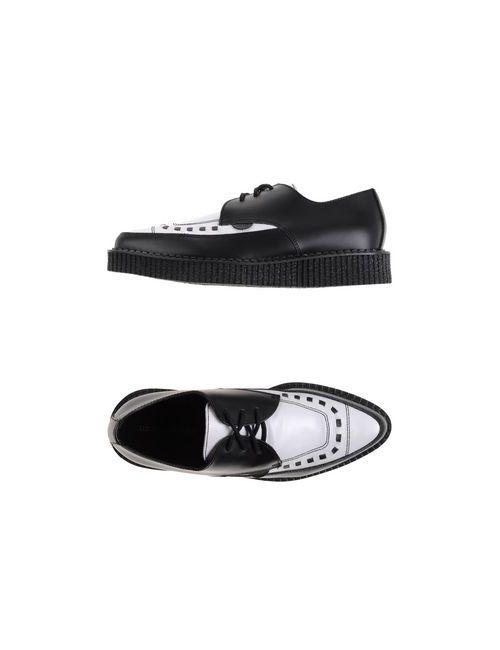 Underground | Женская Чёрная Обувь На Шнурках