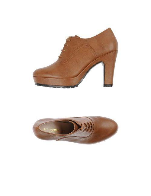 Primadonna | Женская Розовая Обувь На Шнурках