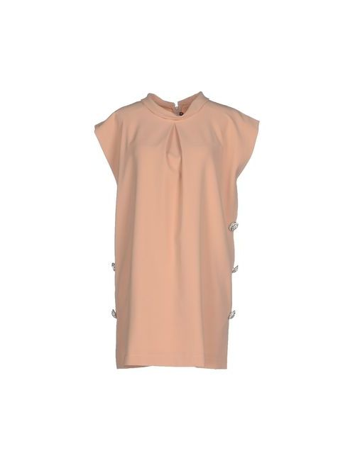 La Camicia Bianca | Женское Песочное Короткое Платье