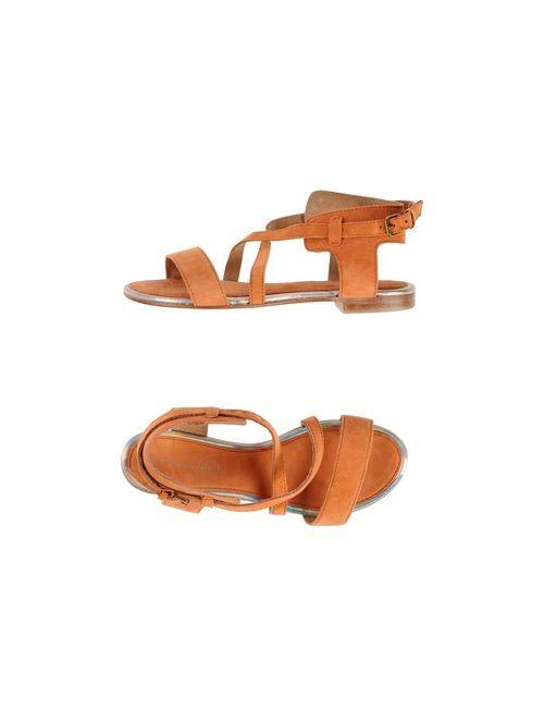 Stefanel | Женские Оранжевые Сандалии