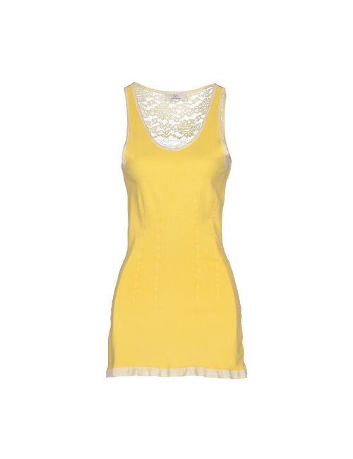Swap Inside   Женское Жёлтое Короткое Платье
