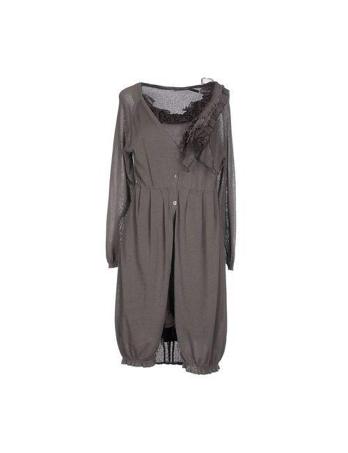 Seventy | Женское Серое Короткое Платье